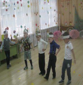 Танец грибов  (ср. группа)