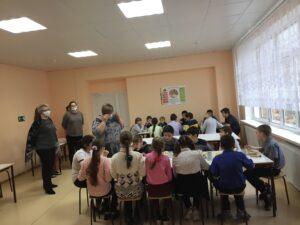 плановая проверка качества питания учащихся в школьной столовой