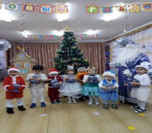Долгожданные подарки от Деда Мороза