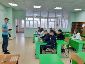 Встреча с курсантом ВА МВД России Андреем Крючковым