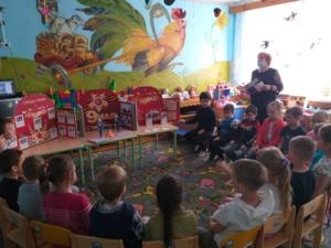 День Победы СП «Детский сад» БОУ ООШ пос.Сборный