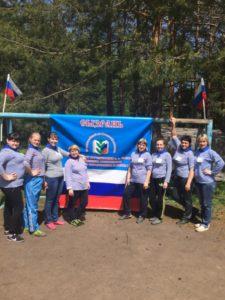 Туристические соревнования работников образования