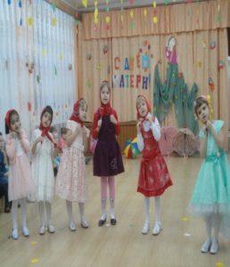 Танец « Рябинки» средняя группа (воспитатель Зайцева Л.А.)