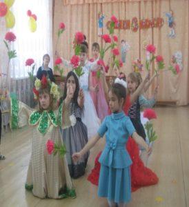 Танец «Цветы» (подготовит. группа)