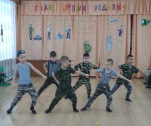 Танец «Спецназ» (подготов.группа)