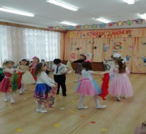 Восточный танец (подг.группа)